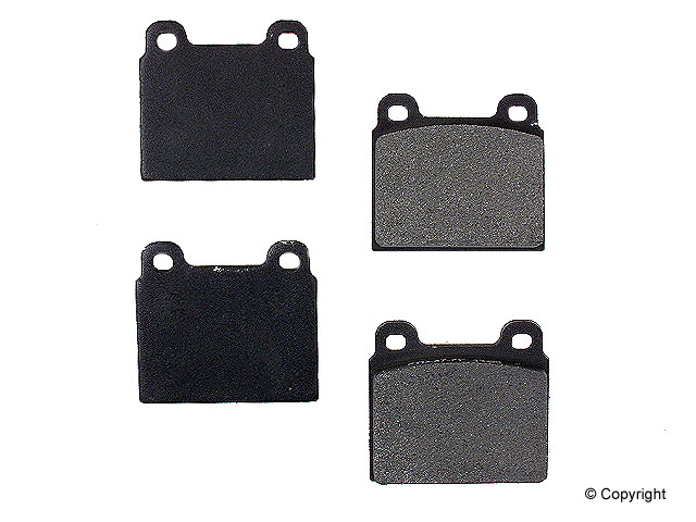 VW Brake Pad Set > VW Campmobile Disc Brake Pad