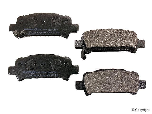 Subaru Forester Brake Pads > Subaru Forester Disc Brake Pad