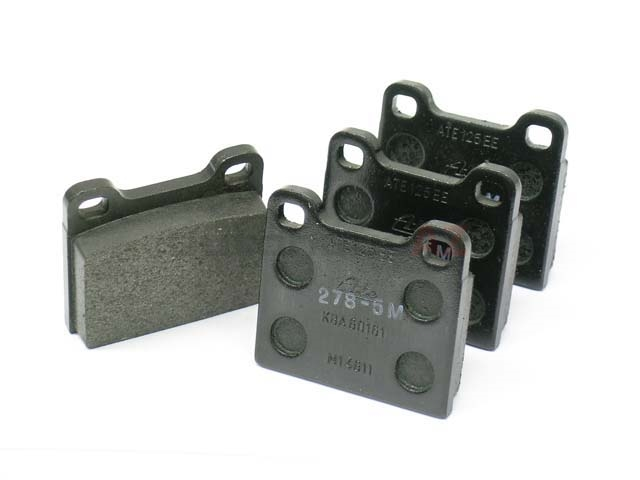 Mercedes Brake Pad Set > Mercedes 240D Disc Brake Pad