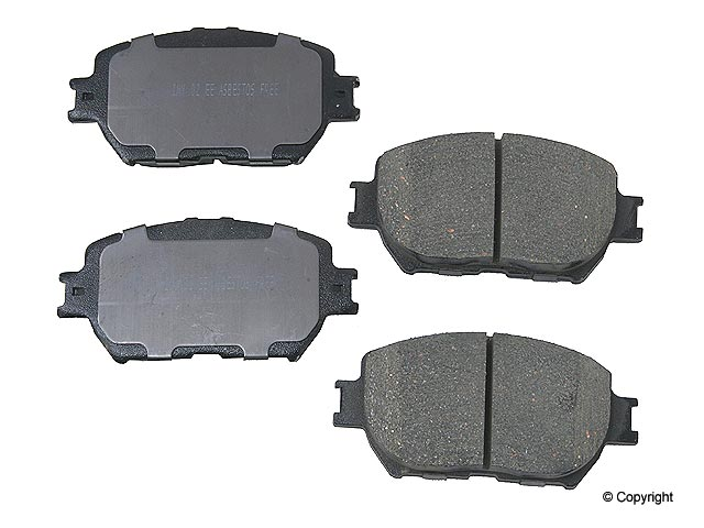 Lexus Brake Pads > Lexus IS250 Disc Brake Pad
