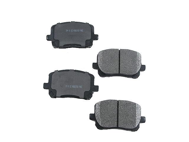 toyota brake pads auto parts online catalog. Black Bedroom Furniture Sets. Home Design Ideas