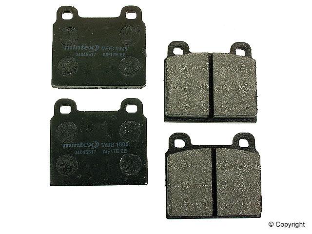 VW Brake Pad Set > VW TranSporter Disc Brake Pad