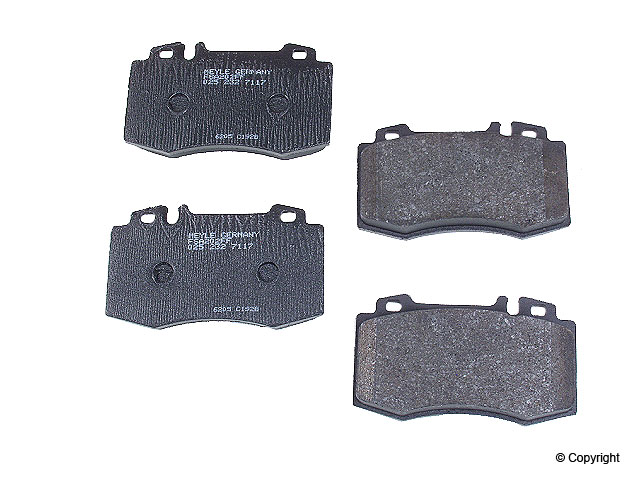 Mercedes SL500 Brake Pads > Mercedes SL500 Disc Brake Pad