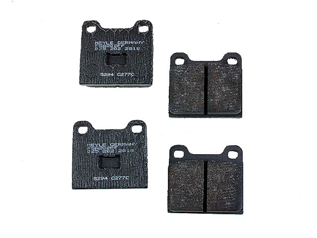 Volkswagen 412 Brake Pads > VW 412 Disc Brake Pad