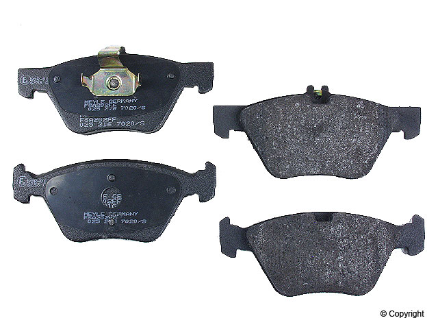 Mercedes SLK320 Brake Pads > Mercedes SLK320 Disc Brake Pad