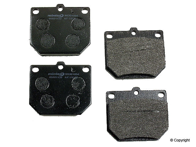 Nissan 280Z Brake Pads > Nissan 280Z Disc Brake Pad