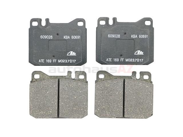 Mercedes 450SL Brake Pads > Mercedes 450SLC Disc Brake Pad