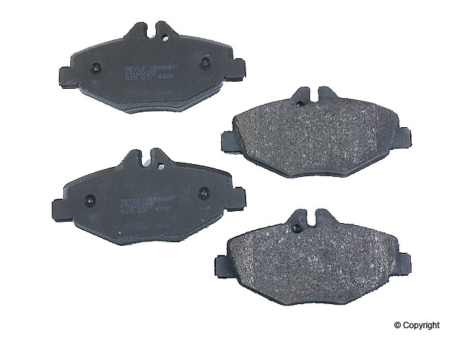Mercedes Brake Pad Set > Mercedes E350 Disc Brake Pad