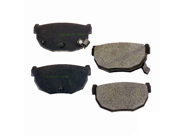 Nissan Brake Pad > Nissan 300ZX Disc Brake Pad