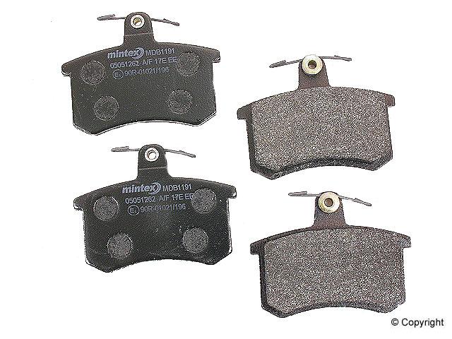 Audi Quattro Brake Pads > Audi Quattro Disc Brake Pad