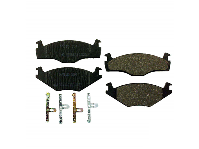 VW Brake Pads > VW Cabriolet Disc Brake Pad