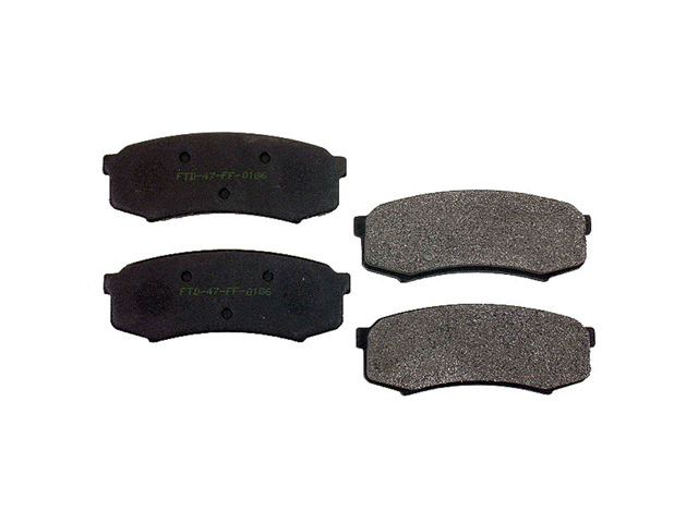 Toyota Brake Pad Set > Toyota 4Runner Disc Brake Pad