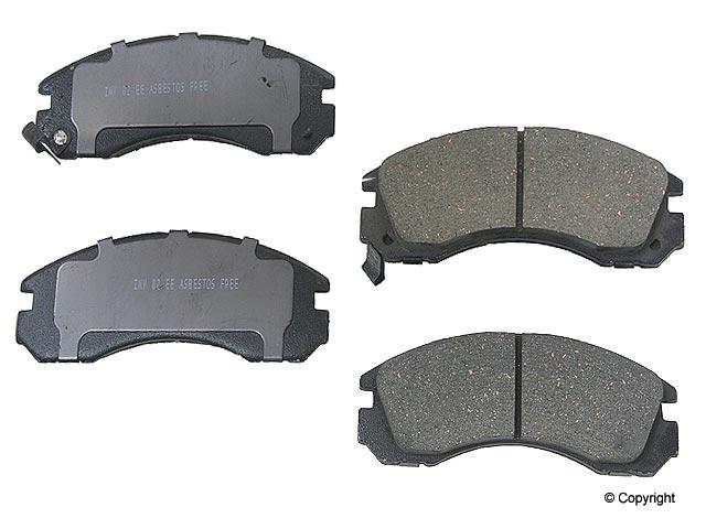 Acura NSX Brake Pads > Acura NSX Disc Brake Pad