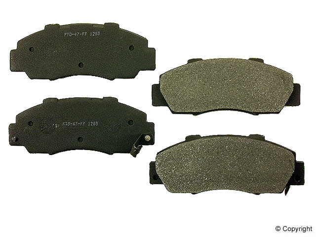 Acura RL Brake Pads > Acura RL Disc Brake Pad