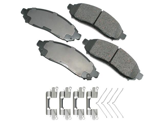 Nissan Xterra > Nissan Xterra Disc Brake Pad