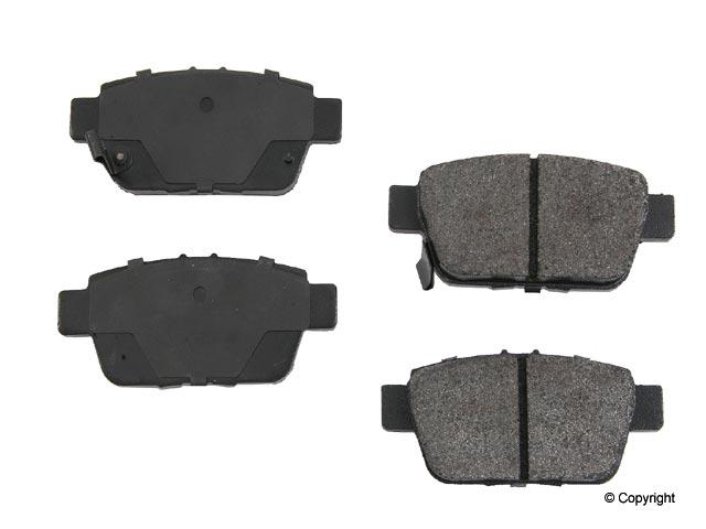 Honda Ridgeline Brake Pads > Honda Ridgeline Disc Brake Pad