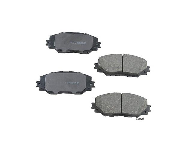 Toyota RAV4 Brake Pads > Toyota RAV4 Disc Brake Pad