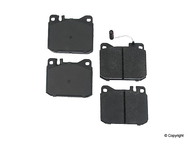 Mercedes 420SEL Brake Pads > Mercedes 420SEL Disc Brake Pad