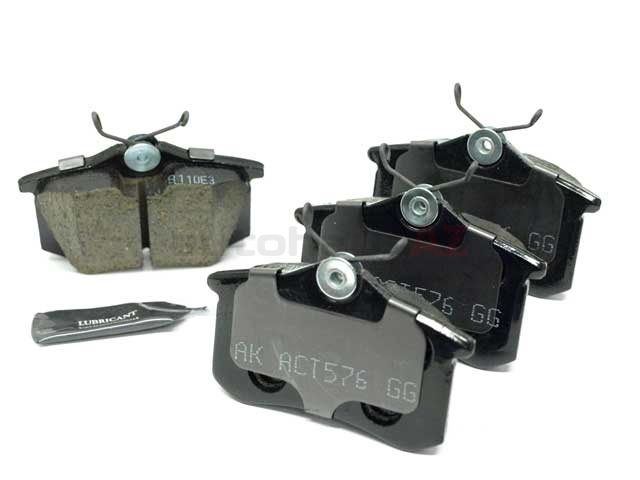 Audi Brake Pad Set > Audi A6 Disc Brake Pad