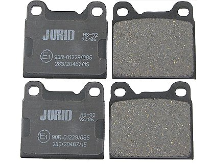 Mercedes 450SEL Brake Pads > Mercedes 450SEL Disc Brake Pad