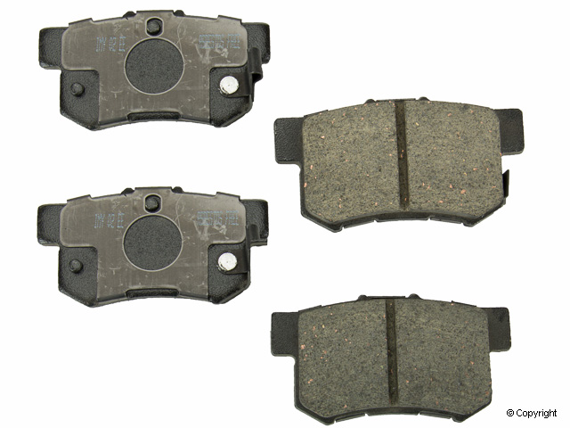Acura Brake Pad > Acura CL Disc Brake Pad