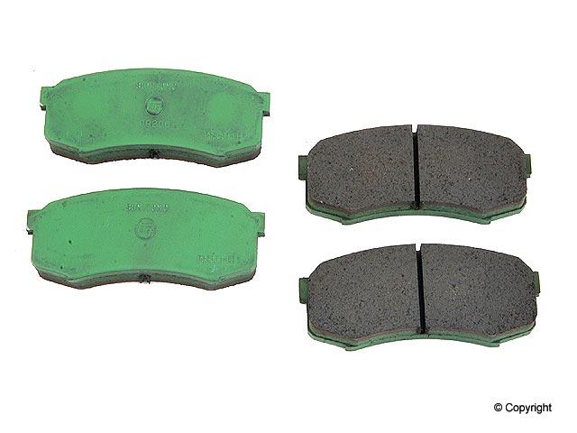 Lexus Brake Pad > Lexus LX450 Disc Brake Pad