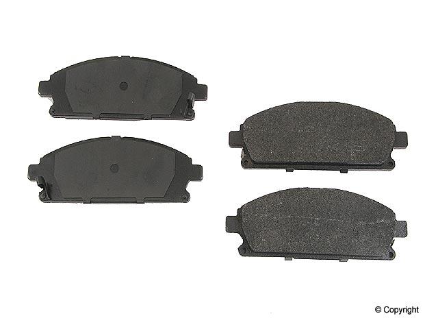 Acura MDX > Acura MDX Disc Brake Pad
