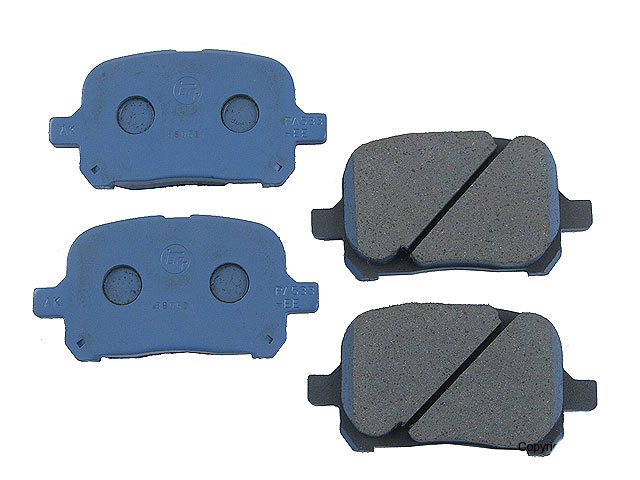 Toyota Brake Pad Set > Toyota Avalon Disc Brake Pad