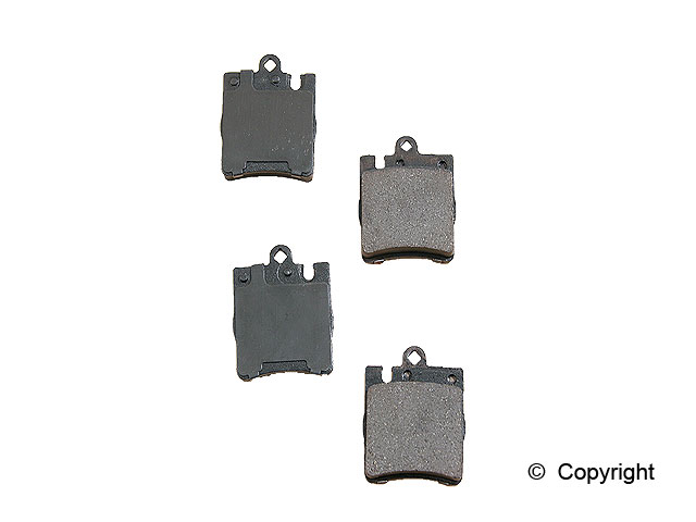 Mercedes C230 > Mercedes C230 Disc Brake Pad