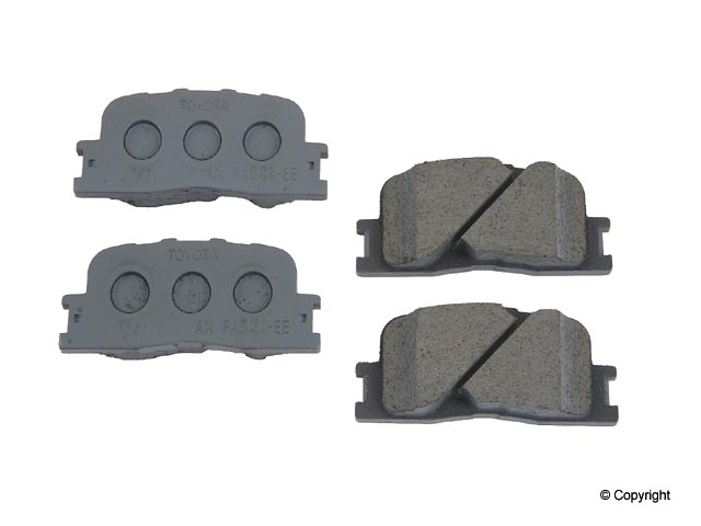Lexus Brake Pad Set > Lexus ES300 Disc Brake Pad