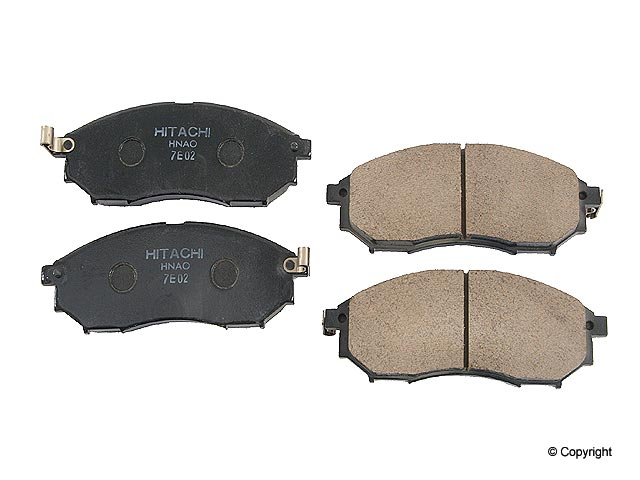 Nissan Brake Pad Set > Nissan 350Z Disc Brake Pad