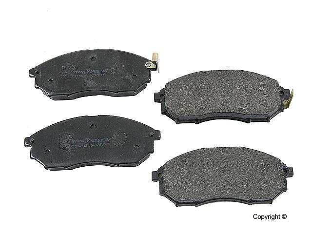 Infiniti Q45 > Infiniti Q45 Disc Brake Pad