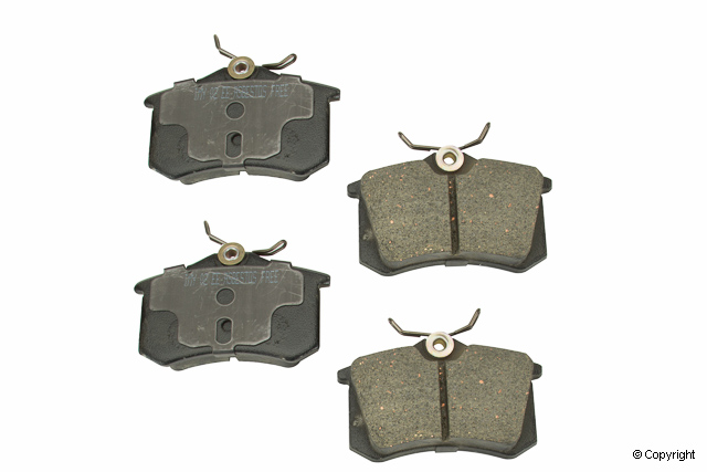 Volkswagen Brake Pad Set > VW Jetta Disc Brake Pad