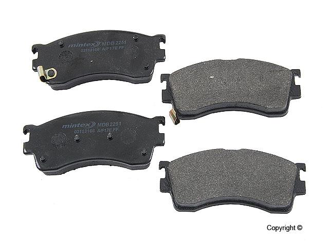 Mazda Protege Brake Pads > Mazda Protege Disc Brake Pad