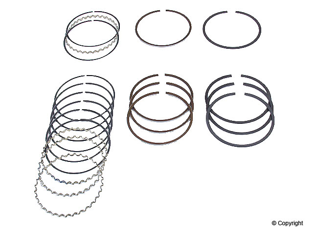 Mitsubishi Piston Ring Set > Mitsubishi Galant Engine Piston Ring Set
