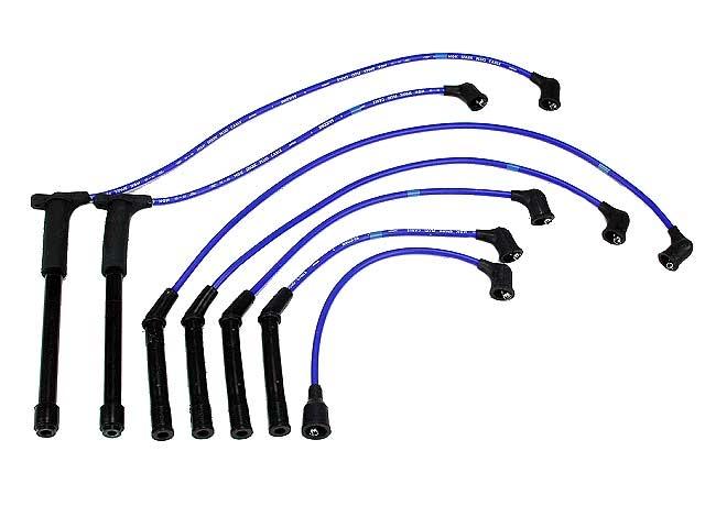 Nissan D21 Spark Plug Wires > Nissan D21 Spark Plug Wire Set