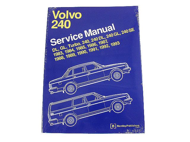 Volvo Repair Manual > Volvo 244 Repair Manual